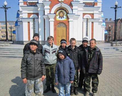 Возле Успенского собора