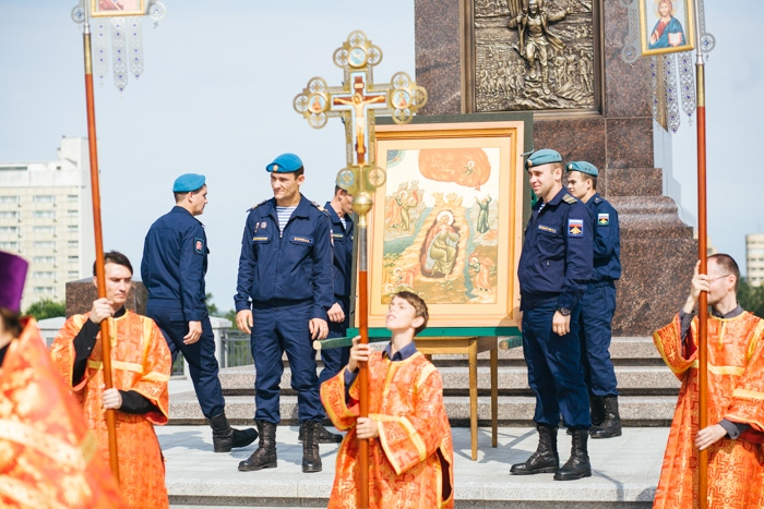 Хабаровск. Молебен в день Пророка Илии.