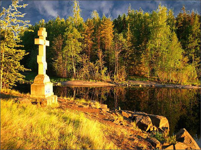 Крест осень
