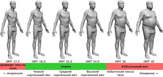 ожирение 2 степени у женщины