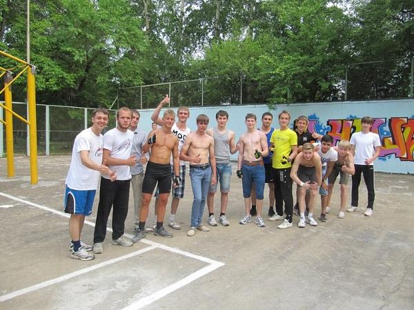 Открытие Workout-площадки