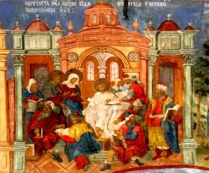 Отрок Иисус в храмее