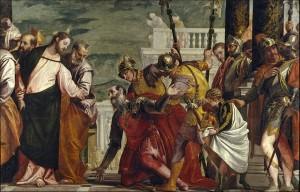 исцеление сына царедворца