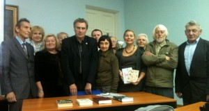 Сергей Куняев в Дальневосточной государственной научной библиотеке