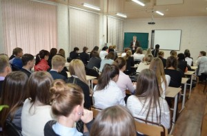 Лекция для учеников средней школы № 1, г. Советская Гавань