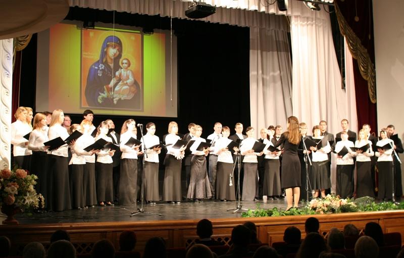 Сводный хор Хабаровской епархии