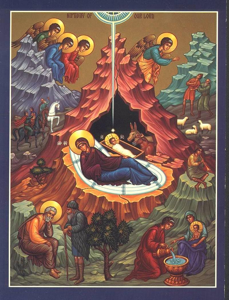 икона Рождества Христова |: blogs.pravostok.ru/palomnik/2013/01/10/kak-amurchane-po-xabarovskoj...