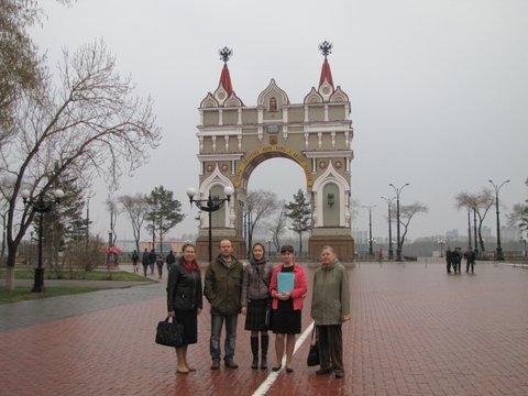 Благовещенск Триумфальная арка
