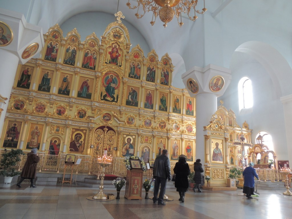 внутренне убранство собора