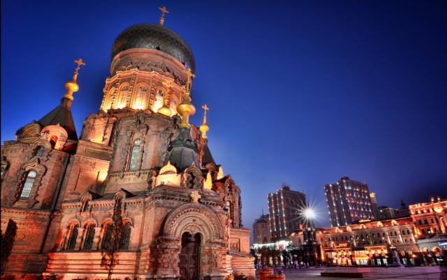 Russian Harbin temple