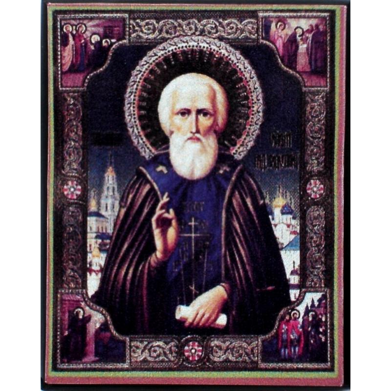 икона Сергия Родонежского