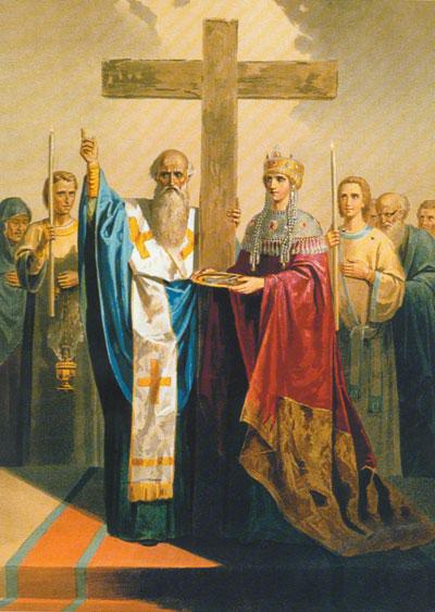 икона Воздвижения Креста Господня