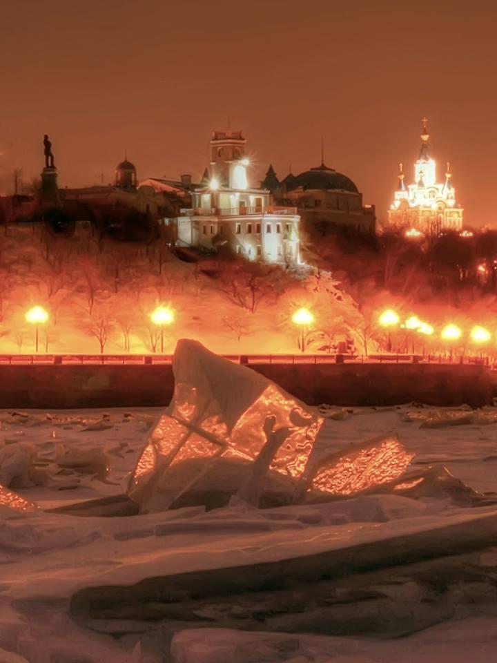 Хабаровск. Вид с Амура