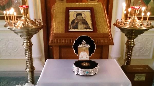Святой Лука Войно-Ясенецкий в Свято-Никольском храме