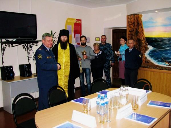 В мужской колонии строгого режима №5 в г.Советская Гавань