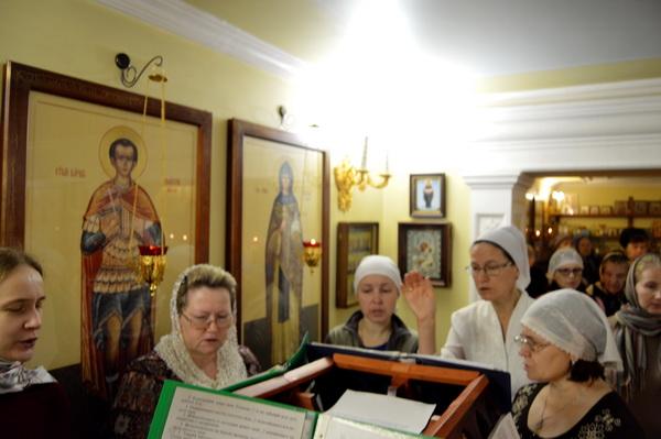 Престольный в Свято-Никольском