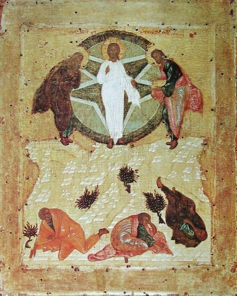 Икона последователя А.Рублева. 1425 г. ГТГ, Москва