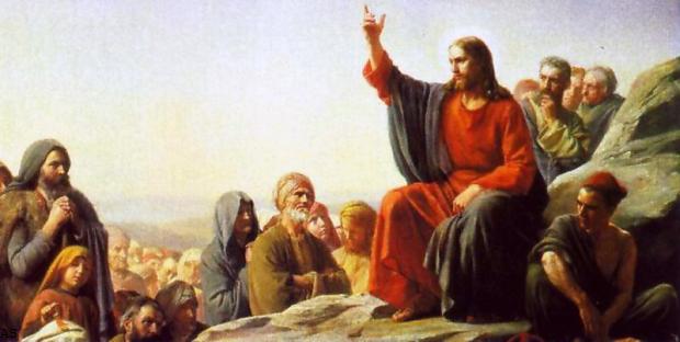 Картина «Нагорная проповедь» Карл Генрих Блох (1834-1890)