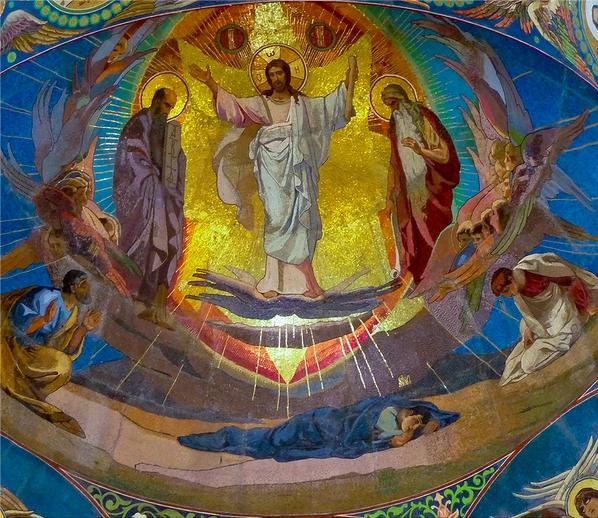 Преображение Господне. Мозаика в храме Спаса на Крови, Санкт-Петербург