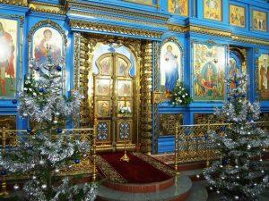 Оформление храма.