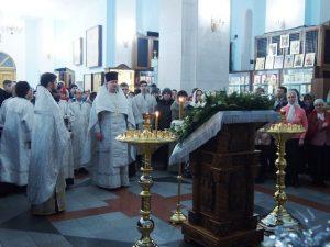 Рождество в Успенском храме.