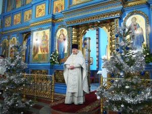 Поздравление с Рождеством. Протоиерей Андрей Базилевич.