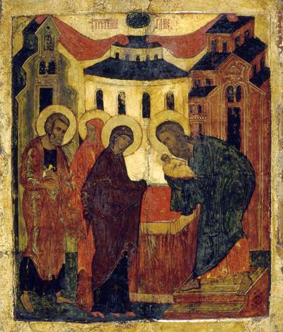 Сретение Господне. 16 век